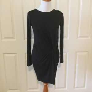 Everly Long Sleeve Little Black Dress